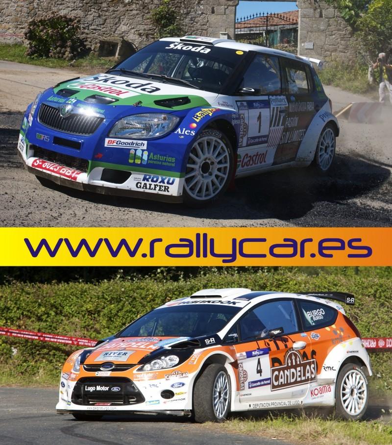 41º Rallye de Ferrol Hankook – Rallycar de nuevo en cabeza