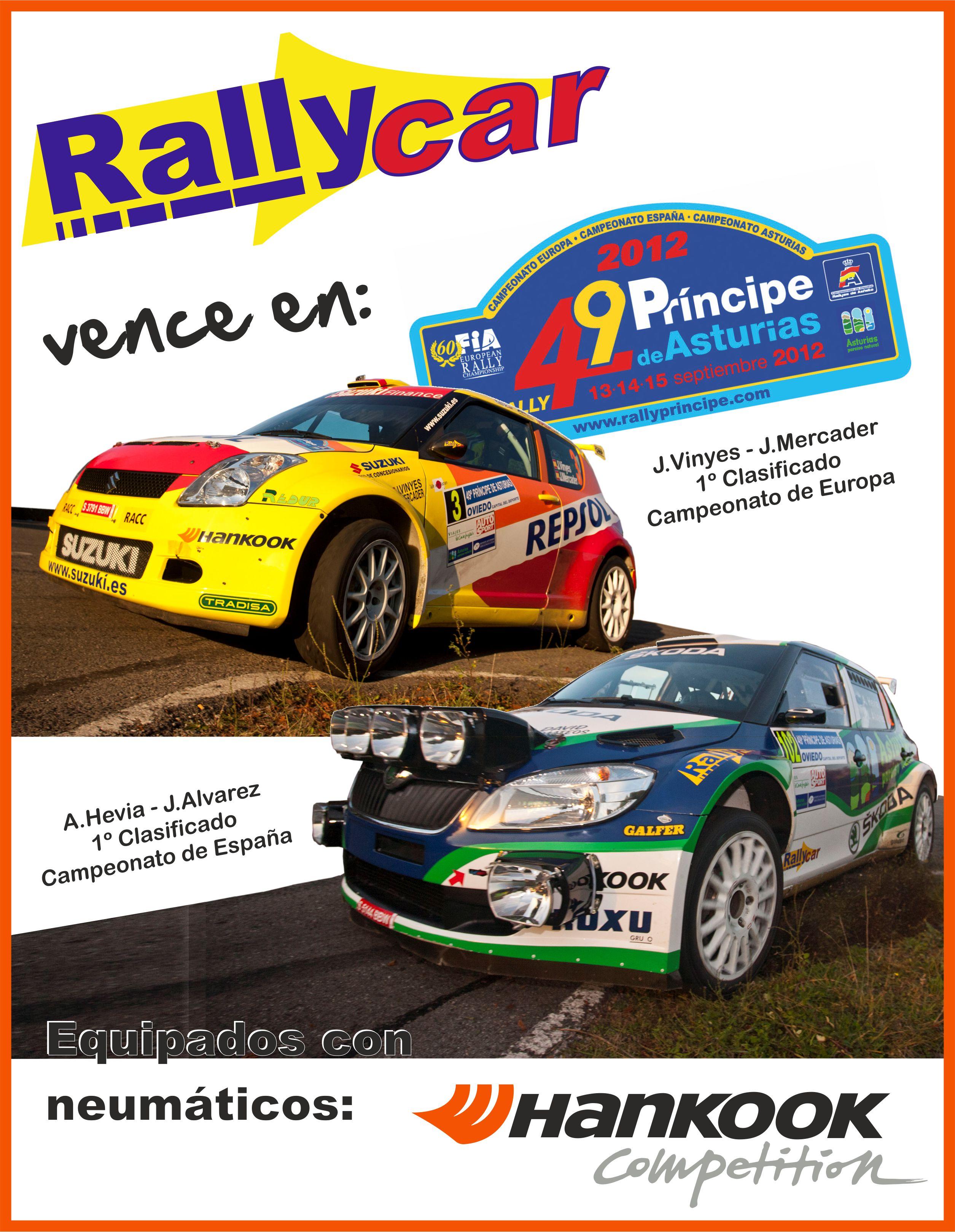 Vencemos en el Rallye Príncipe de Asturias