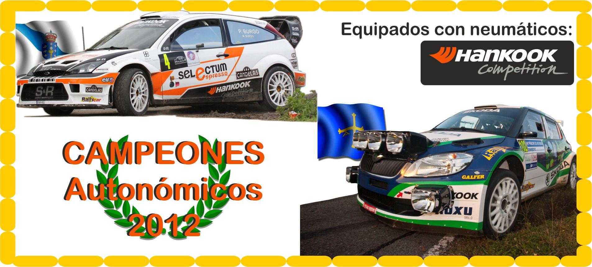 Campeones en Galicia y Asturias