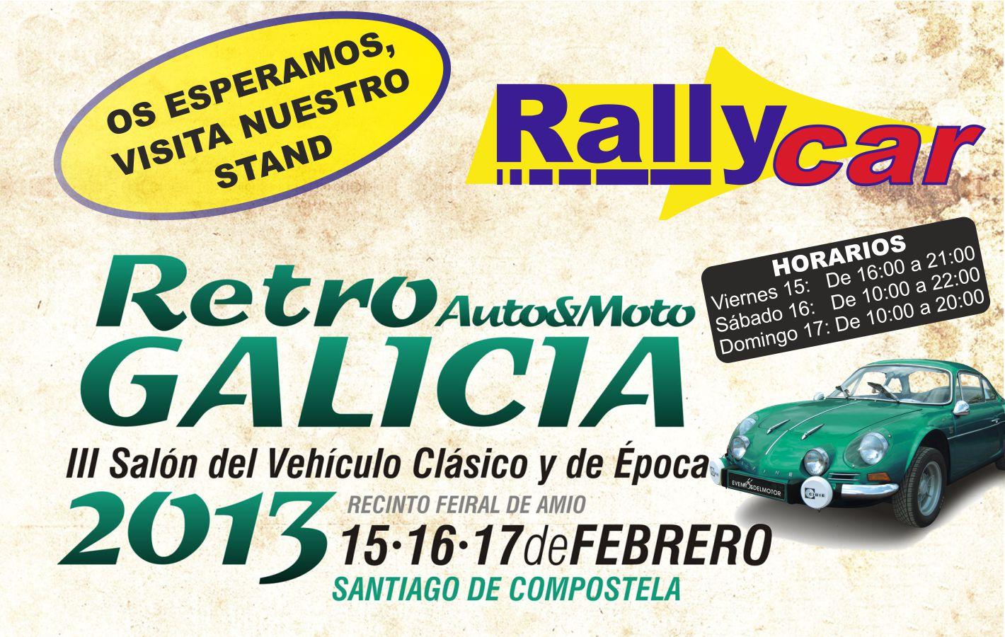 Rallycar presente en Retro Galicia