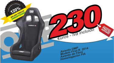 Asiento OMP First R